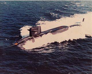 USS <i>Sam Rayburn</i> (SSBN-635) James Madison-class fleet ballistic missile submarine