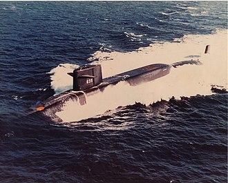 Moored training ship - Image: USS Sam Rayburn (SSBN 635)