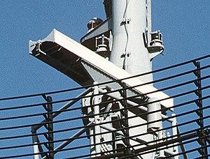 AN/SPS-55 - AN/SPS-55 antenna on USS Samuel B. Roberts (FFG-58)