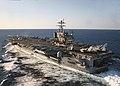 US Navy 040425-N-9964S-059 The U.S. Navy aircraft carrier USS Harry S. Truman (CVN 75) underway off the Virginia coast, undergoing a Tailored Ship's Training Availability (TSTA).jpg
