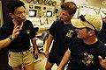 US Navy 060502-N-6074Y-191 Navy Explosive Ordnance Disposal Unit (EOD) Sailors prepare to dive in the Singapore Naval Diving Unit pool.jpg