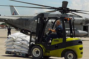 Clark Equipment Company - September 13, 2008 in Port-au-Prince, Haiti