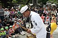 US Navy 090515-N-9719D-622 Musician 1st Class Christopher Sams performs during the 70th Shimoda Black Ship festival.jpg