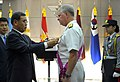 US Navy 090706-N-8273J-132 Chief of Naval Operations (CNO) Adm. Gary Roughead receives the National Security Merit Tongil Medal for his outstanding and meritorious service rendered to the Republic of Korea.jpg