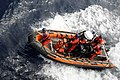 US Navy 090710-G-3885B-017 Sailors assigned to the U.S. Coast Guard Cutter Legare (WMEC 912), conduct small boat training in a 25-foot over-the-horizon boat.jpg