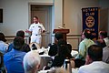 US Navy 090825-N-3271W-004 Rear Adm. Douglas J. McAneny, commander of Submarine Force, U.S. Pacific Fleet speaks to the Omaha Morning Rotary Club during an Omaha Navy Week event.jpg