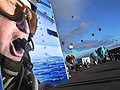 US Navy 091004-N-2888Q-008 The U.S. Navy's F-18 flight simulator was on display at the Albuquerque International Balloon Festival to help celebrate Albuquerque Navy Week.jpg