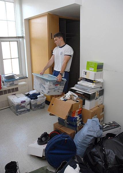 Naval Academy Dorm Room