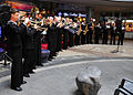 US Navy 110407-N-RO948-008 he U.S. 7th Fleet Band performs at the Changwon City Mall during the 2011 Jinhae International Military Band and Honor G.jpg