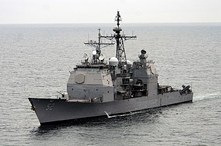 USS <i>Bunker Hill</i> (CG-52) US Navy Ticonderoga-class cruiser