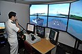US Navy 111103-N-YX169-043 Ensign Jared Hickey, assigned to the amphibious transport dock ship USS Ponce (LPD 15), uses a voice-recognition system.jpg