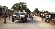 US soldiers in Kismayo, 1993