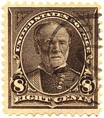 William T. Sherman, 8¢