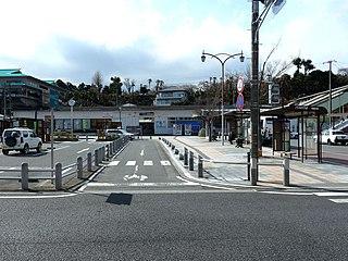 Ueda Station (Fukushima) railway station in Iwaki, Fukushima prefecture, Japan