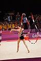 Ukraine Rhythmic gymnastics at the 2012 Summer Olympics (7916239598).jpg