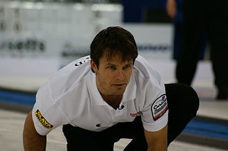Thomas Ulsrud Norwegian curler and Olympic medalist