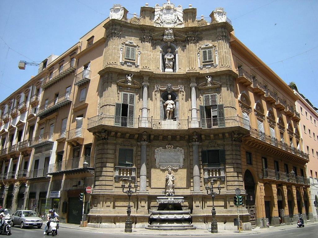 Un des monuments les plus célèbres de Palerme : Un des
