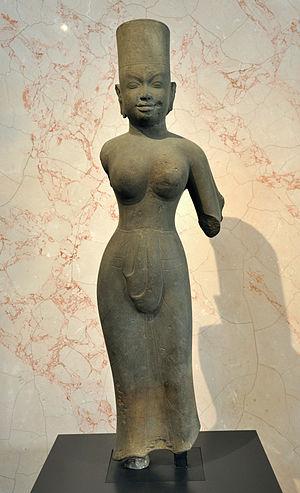 Devi - 8th century Cambodia, Uma