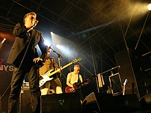 The Undertones (with Paul McLoone) on stage in Barcelona, Spain in September 2007.