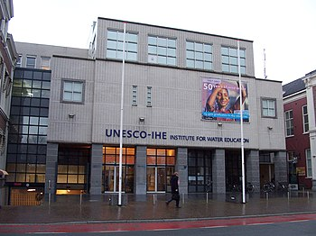 The UNESCO-IHE building in Delft