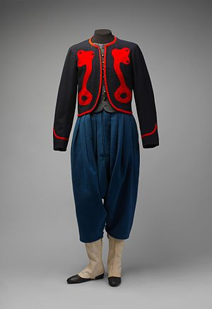 76th Pennsylvania Infantry - Uniform of the Keystone Zouaves worn by Private Jediah K. Burnham, who joined the Company A of the 76th Regiment, Pennsylvania Volunteer Infantry, in 1863