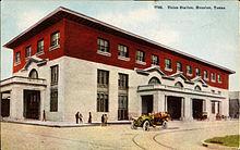 Union Station, Houston, Texas (postcard, C. 1911)