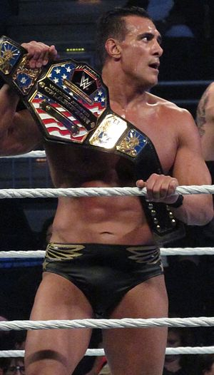 The League of Nations (professional wrestling) - Del Rio as United States Champion in January 2016