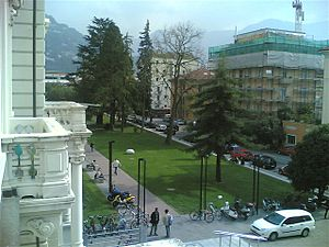 Università della Svizzera italiana - View from the main building