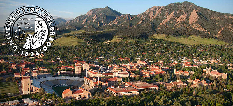 My Alma Mater - the University of Colorado at Boulder