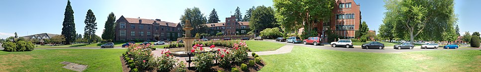 University of Puget Sound campus on a sunny July afternoon.