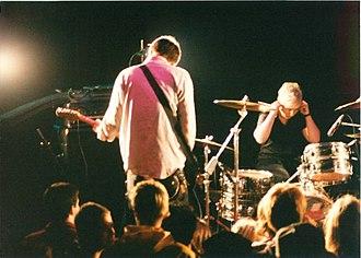 Unwound - Drummer Lund and bassist Vern Rumsey