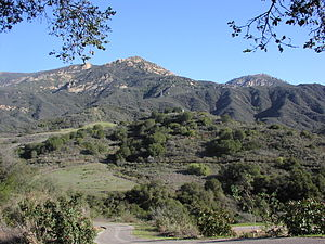 Santa Ynez Mountains - Image: Upper Arroyo Burro