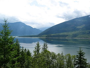 Arrow Lakes - Upper Arrow Lake, south of Nakusp