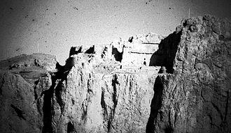 Urartu - Urartian tomb complex, Van citadel, 1973.