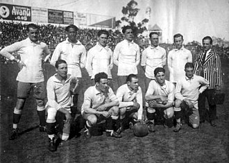 1923 South American Championship - The Uruguayan squad won its 4th. title