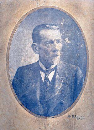 Víctor Mirecki Larramat - Víctor Mirecki Larramat, 1908