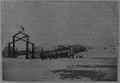 V.M. Doroshevich-Sakhalin. Part I. Pier in Aleksandrovsky at Day of Arrival of Higher-ups.png