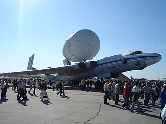 Myasishchev M-4 - Myasishchev VM-T, an M-4 variant that carried oversized cargo in a pod on top of the fuselage.