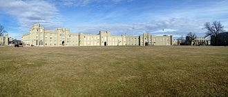 Barracks, Virginia Military Institute - Image: VMI Barracks