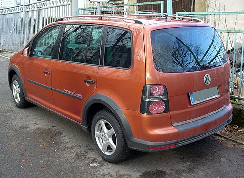 2007 Volkswagen Crosstouran. Vw reinvents the Touareg,