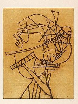 Vajda Abstract Self-portrait 1937