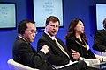 """Valdis Dombrovskis piedalās Pasaules ekonomikas foruma sesijā """"Kā finansēt nākotnes ekonomiku?"""" (7978883485).jpg"""