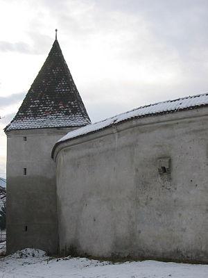 Valea Viilor fortified church