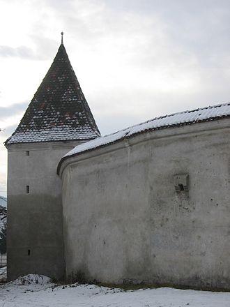 Valea Viilor fortified church - Image: Valea Viilor IMG 4650
