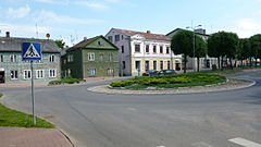Valga traffic circle.JPG