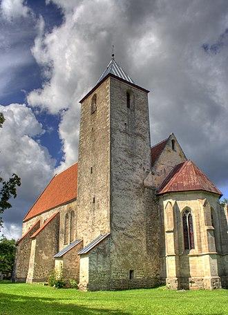 Valjala - Valjala St. Martin's Church