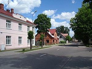 Valka - Image: Valka, Semināra iela (1)