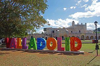 Valladolid, Yucatán - Image: Valladolid letras