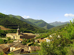 Glosas Emilianenses - Yuso, the lower of the San Millán monasteries