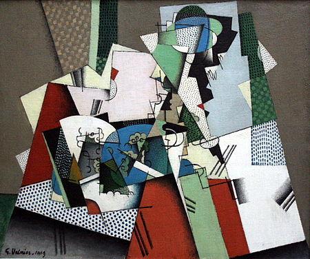 乔治·凡拉米法国第一位立体主义美学抽象画家绘画作品Georges Valmier - 柳州文铮 - 柳州文铮股票数学模型网易博客